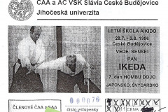 1996 - Masatomi Ikeda - České Budějovice